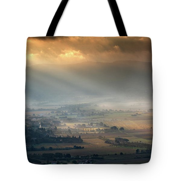 Tuscany Valley  Tote Bag