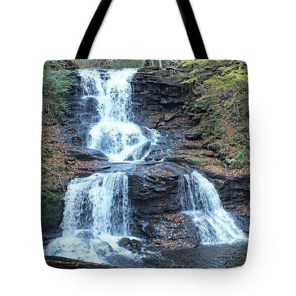 Tuscarora - Ricketts Glen Tote Bag