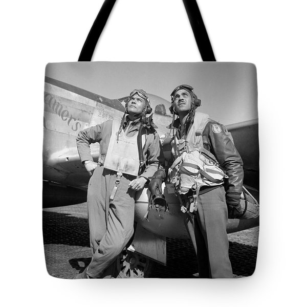 Tuskegee Airmen Tote Bag by War Is Hell Store