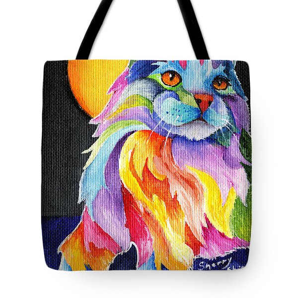 Tutti Fruiti Kitty Tote Bag