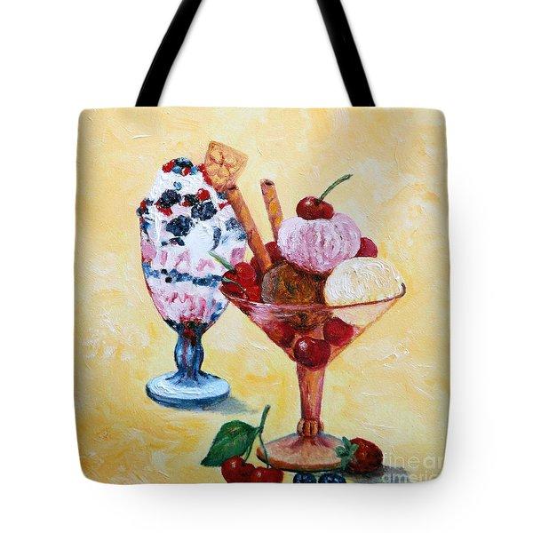 Tutti Frutti II Tote Bag by Enzie Shahmiri