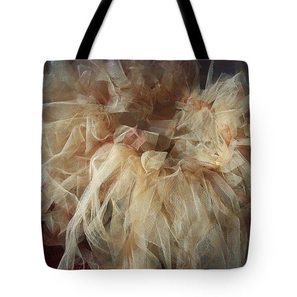 Tote Bag featuring the painting Tutu by Judith Desrosiers