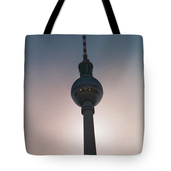 Tv Tower Berlin Tote Bag