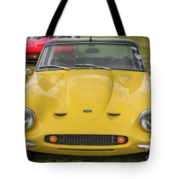 Tote Bag featuring the photograph Tvr Vixen S2 1969 by Adrian Evans