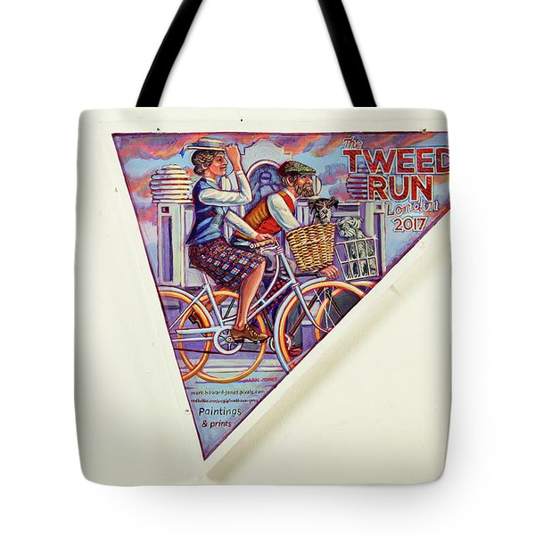 Tweed Run London Princess And Guvnor  Tote Bag