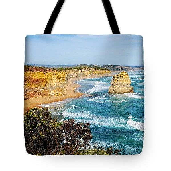 Twelve Apostles Australia Tote Bag