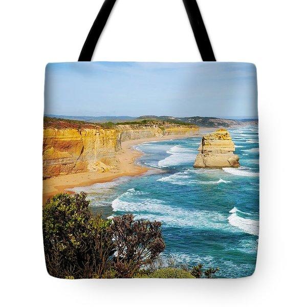 Twelve Apostles Australia Tote Bag by Lexa Harpell