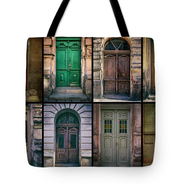 Tote Bag featuring the photograph Twelve Gates Of My Hometown by Jaroslaw Blaminsky