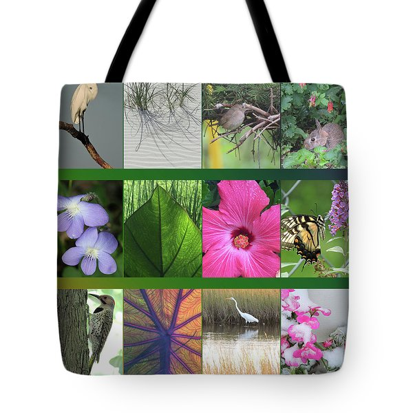 Tote Bag featuring the photograph Twelve Months Of Nature by Peg Toliver