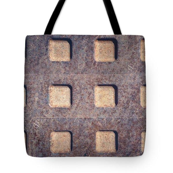 Twelve Squares Tote Bag