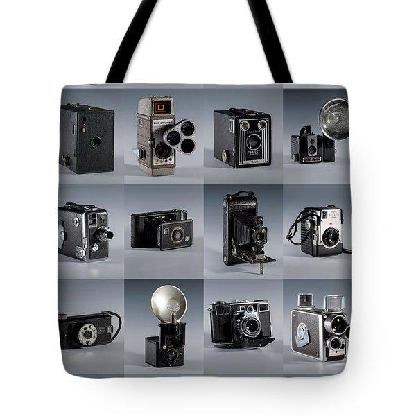 Twenty Old Cameras - Color Tote Bag