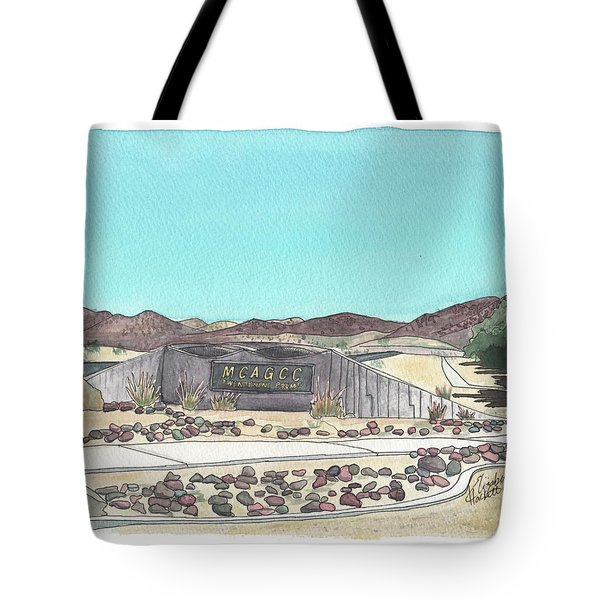 Twentynine Palms Welcome Tote Bag