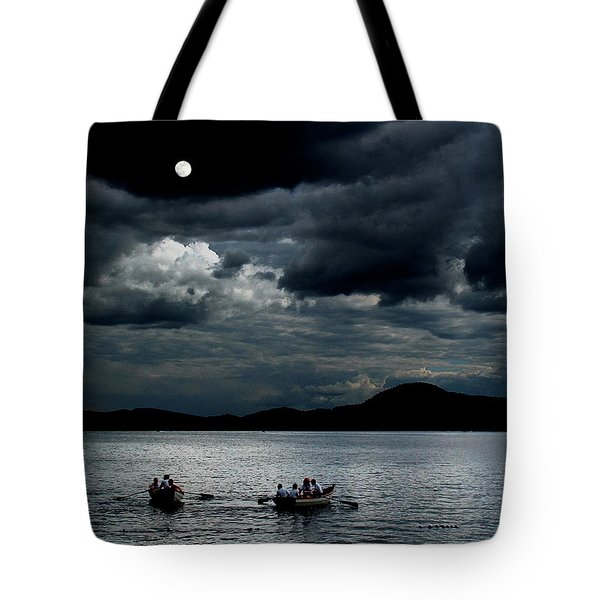 Twice In A Blue Moon Tote Bag