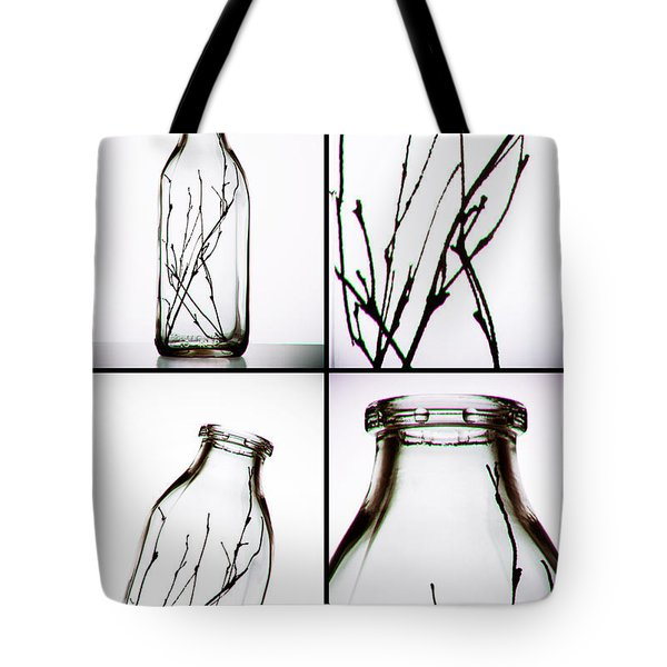 Twigs - Four Panel Tote Bag