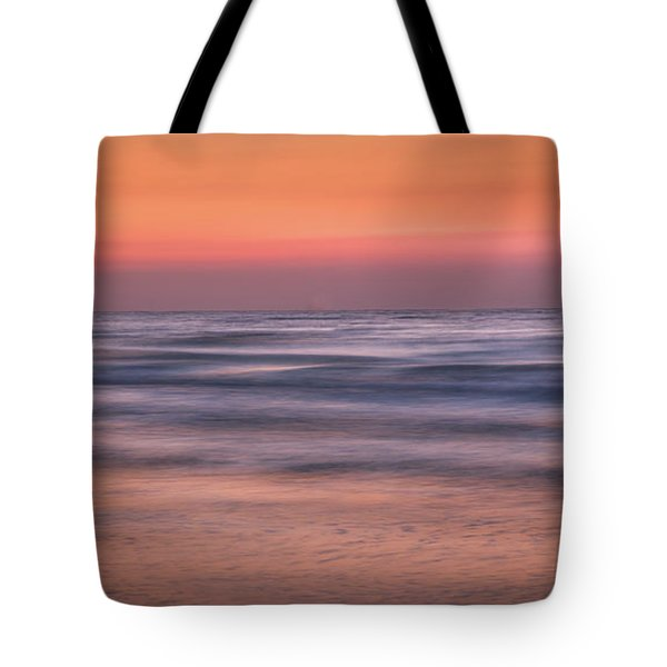 Twilight Abstract Tote Bag