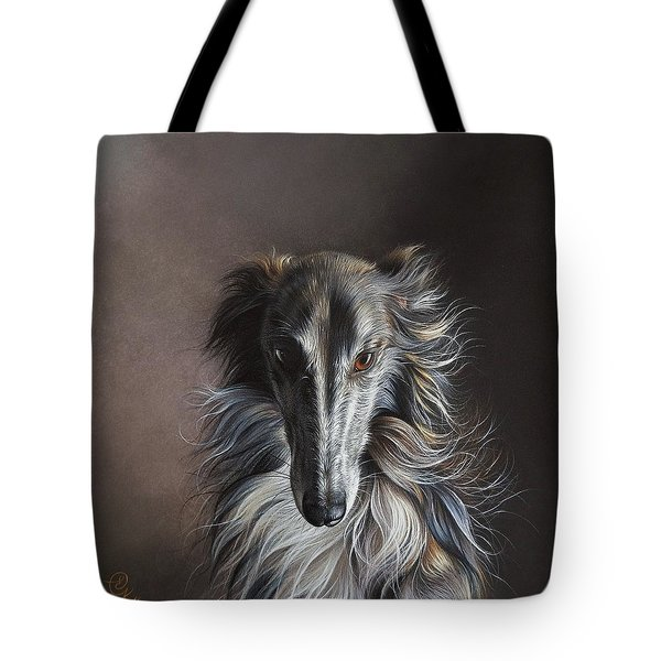 Twilight Angel Tote Bag by Elena Kolotusha