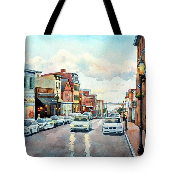 Twilight Annapolis Tote Bag