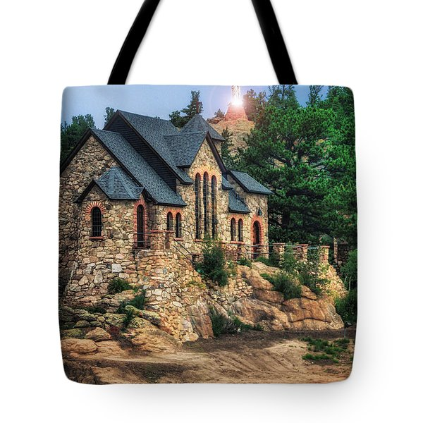 Twilight At Chapel On The Rock Tote Bag