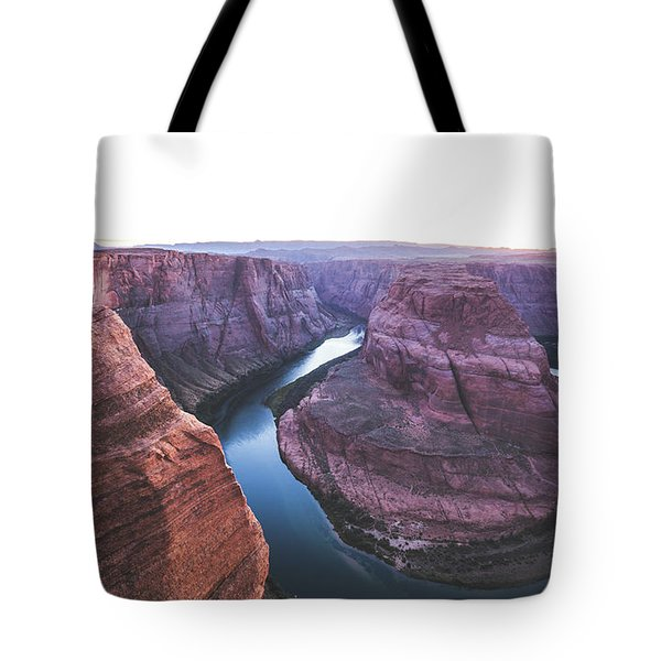 Twilight At Horseshoe Bend Tote Bag by JR Photography