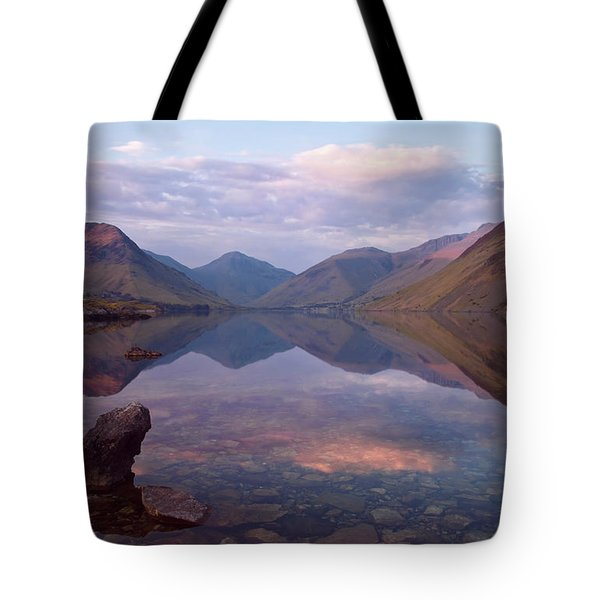Twilight At Wastwater In Cumbria Tote Bag