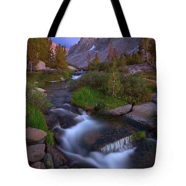 Twilight Cascade Tote Bag