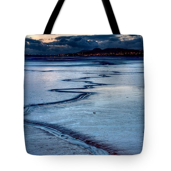 Twilight, Conwy Estuary Tote Bag
