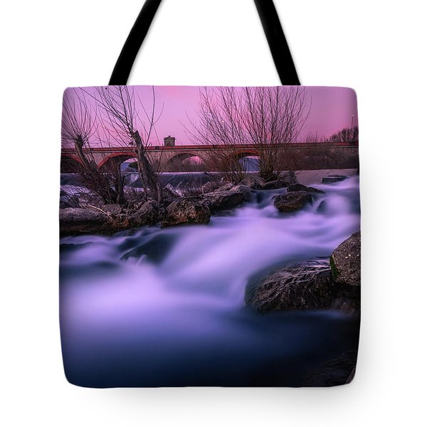 Twilight Falls Tote Bag