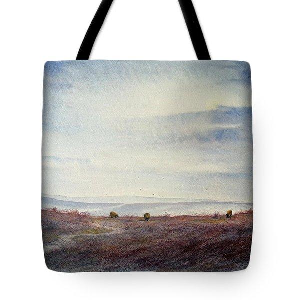 Twilight Settles On The Moors Tote Bag