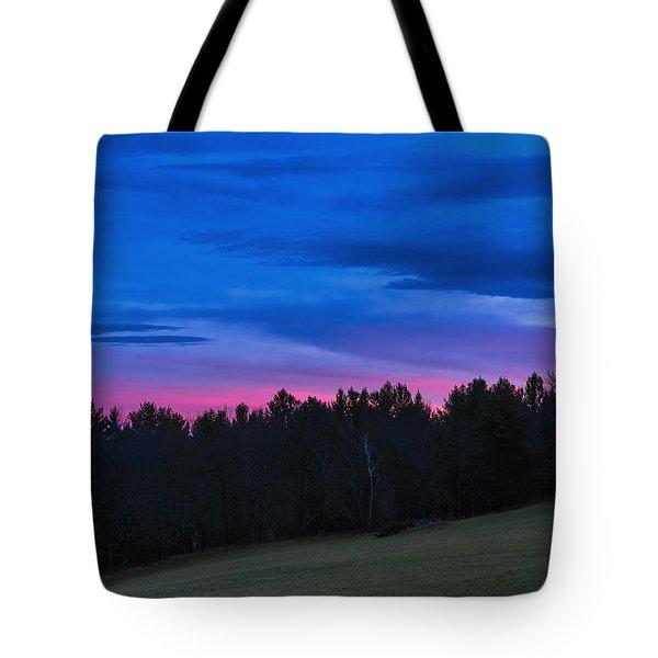 Twilight Field Tote Bag