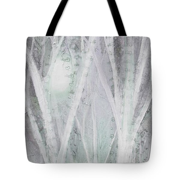 Twilight In Gray I Tote Bag
