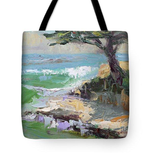 Twilight In Santa Cruz Tote Bag