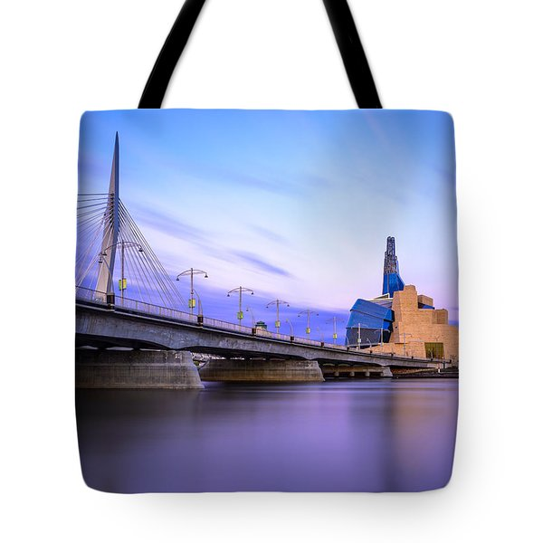 Twilight In Winnipeg Tote Bag