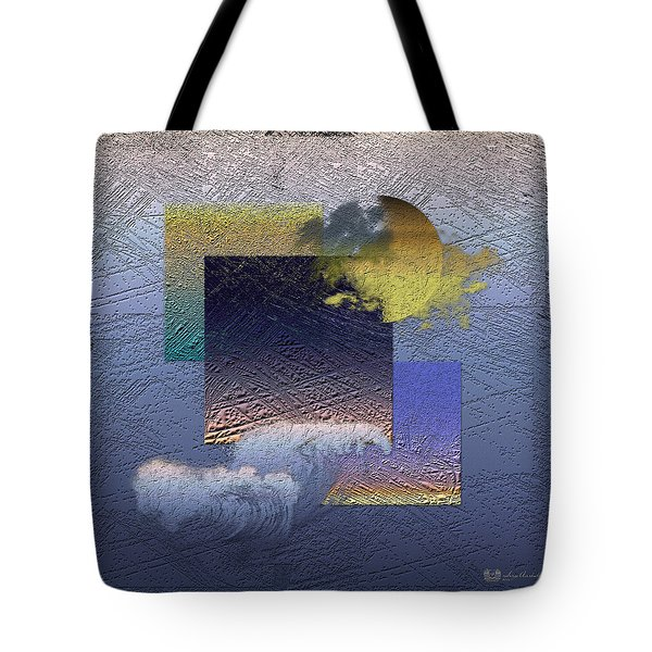 Twilight Interrupted By Ocean Breeze Tote Bag by Serge Averbukh
