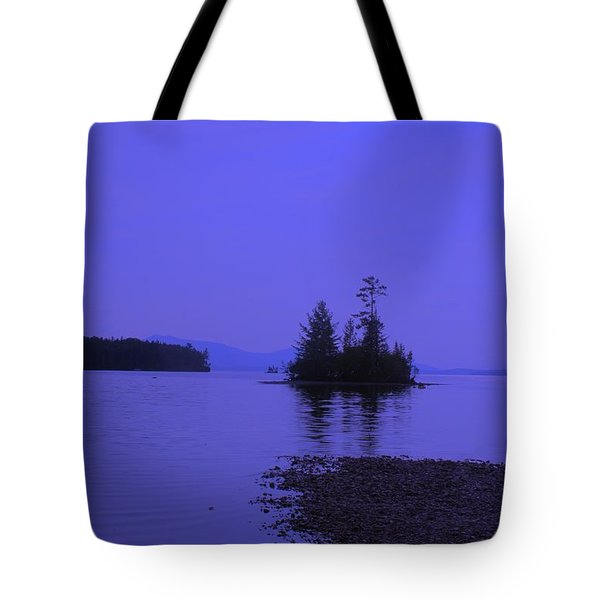 Twilight Island Tote Bag