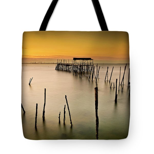 Tote Bag featuring the photograph Twilight by Jorge Maia