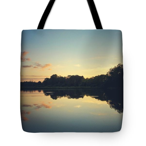 Tote Bag featuring the photograph Twilight by Karen Stahlros