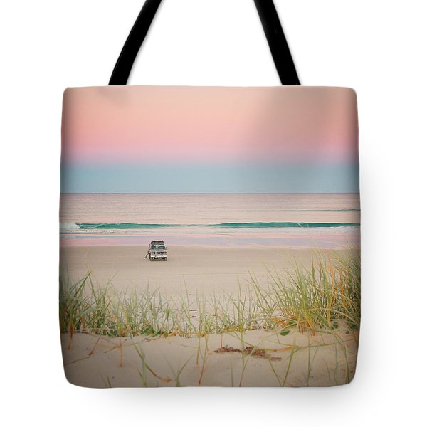 Twilight On The Beach Tote Bag