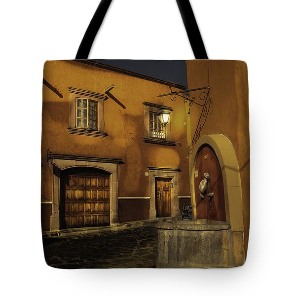 Twilight On The Corner Tote Bag