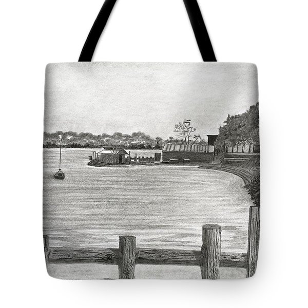 Twilight On Tomales Bay Tote Bag