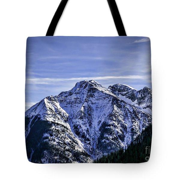 Twilight Peak Colorado Tote Bag
