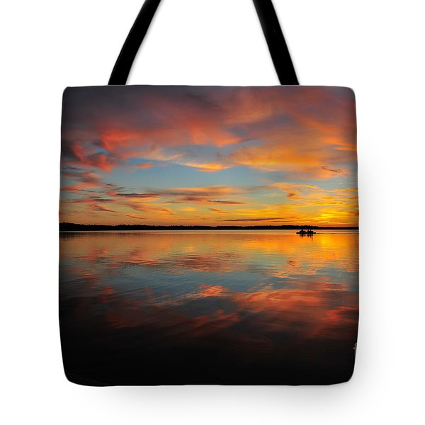 Twilight Reflection Tote Bag