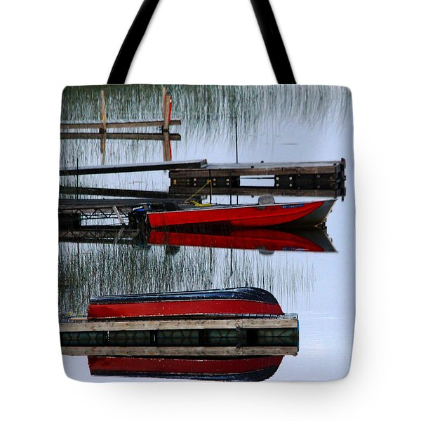Twilight Reflections Tote Bag by Debbie Oppermann