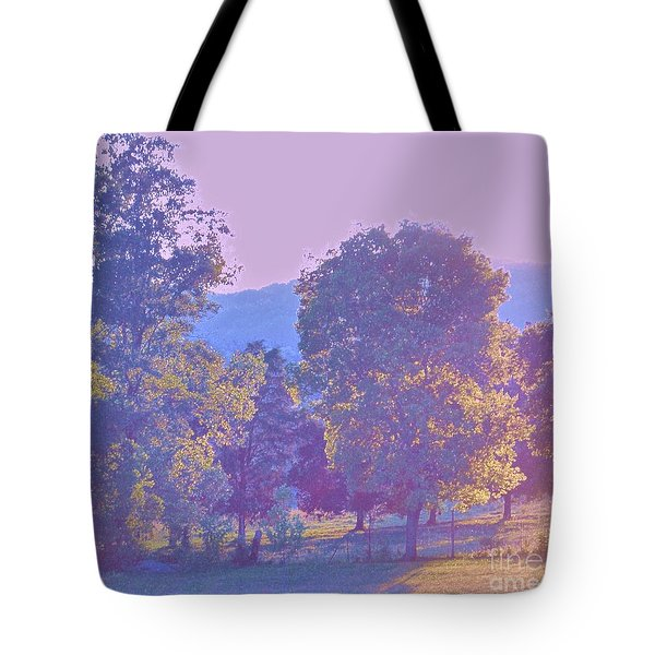 Twilight Tote Bag by Shirley Moravec