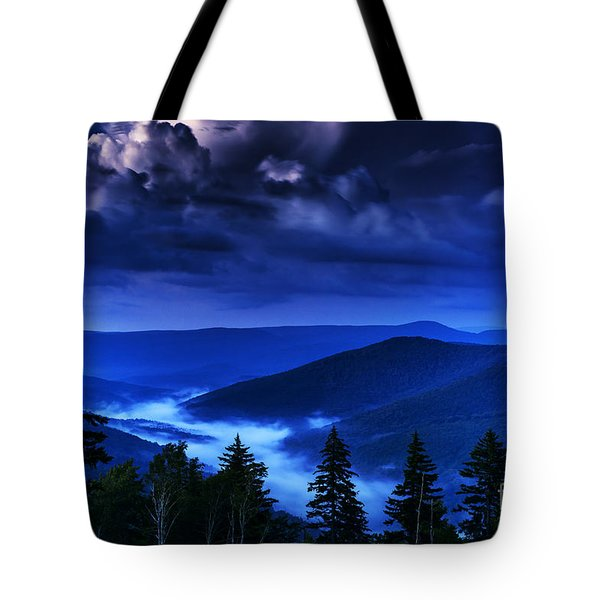 Twilight Thunderhead Tote Bag by Thomas R Fletcher