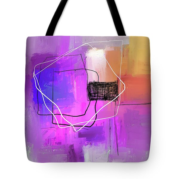 Tote Bag featuring the mixed media Twilight Zone by Eduardo Tavares