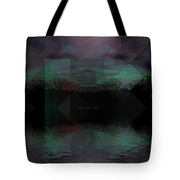 Tote Bag featuring the digital art Twilight Zone by Mimulux patricia no No
