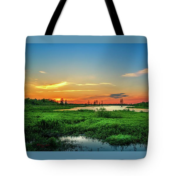 Tote Bag featuring the photograph Twilights Arrival by Marvin Spates