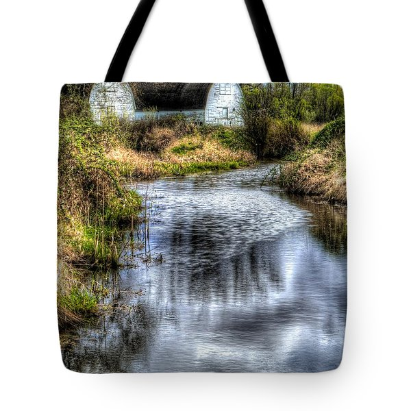 Twin Barns Tote Bag by Peter Mooyman