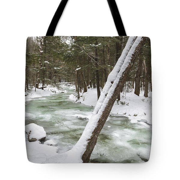Twin Brook - White Mountains New Hampshire Tote Bag