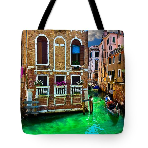 Twin Canals Tote Bag